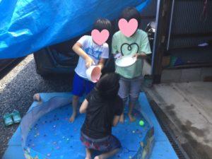 くさかのお家ミニキャンプ
