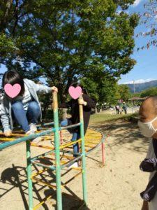 10月24日公園遊び