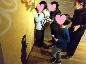 4月SST遠足 金魚ミュージアムで撮影会